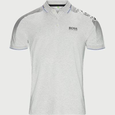 Paule Pro Polo T-shirt Slim | Paule Pro Polo T-shirt | Grå